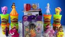 GIANT DORY Surprise Egg Play Doh - Finding Dory Nemo Ariel My Little Pony Littlest Pet Sho