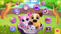 Fun Pet Care Kids Games - Cute Kitty & Puppy Care - Dress Up Kiki & Fifi Pet Friends Child