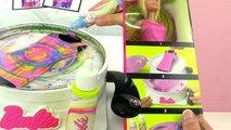 Barbie Kleider mit Spin ART MAKER   Kann man die Farben auswaschen?   DEMO Spiel mit mir