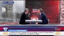 """Jean-Luc Mélenchon veut la """"régularisation de tous les travailleurs sans-papiers"""""""