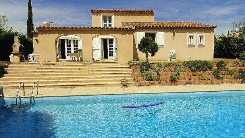 immobilier Grimaud Vente Villa vue mer et piscine Proche Plage - 145 m²