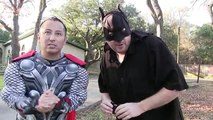Kid Heroes 24 - BATMAN and THOR get a GIANT SURPRISE from Elsa Batgirl in this EPIC NERF WAR