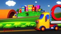 Алфавиты анимационный для Дети предварительное до заранее рифмы Школа Песня песни грузовая машина |