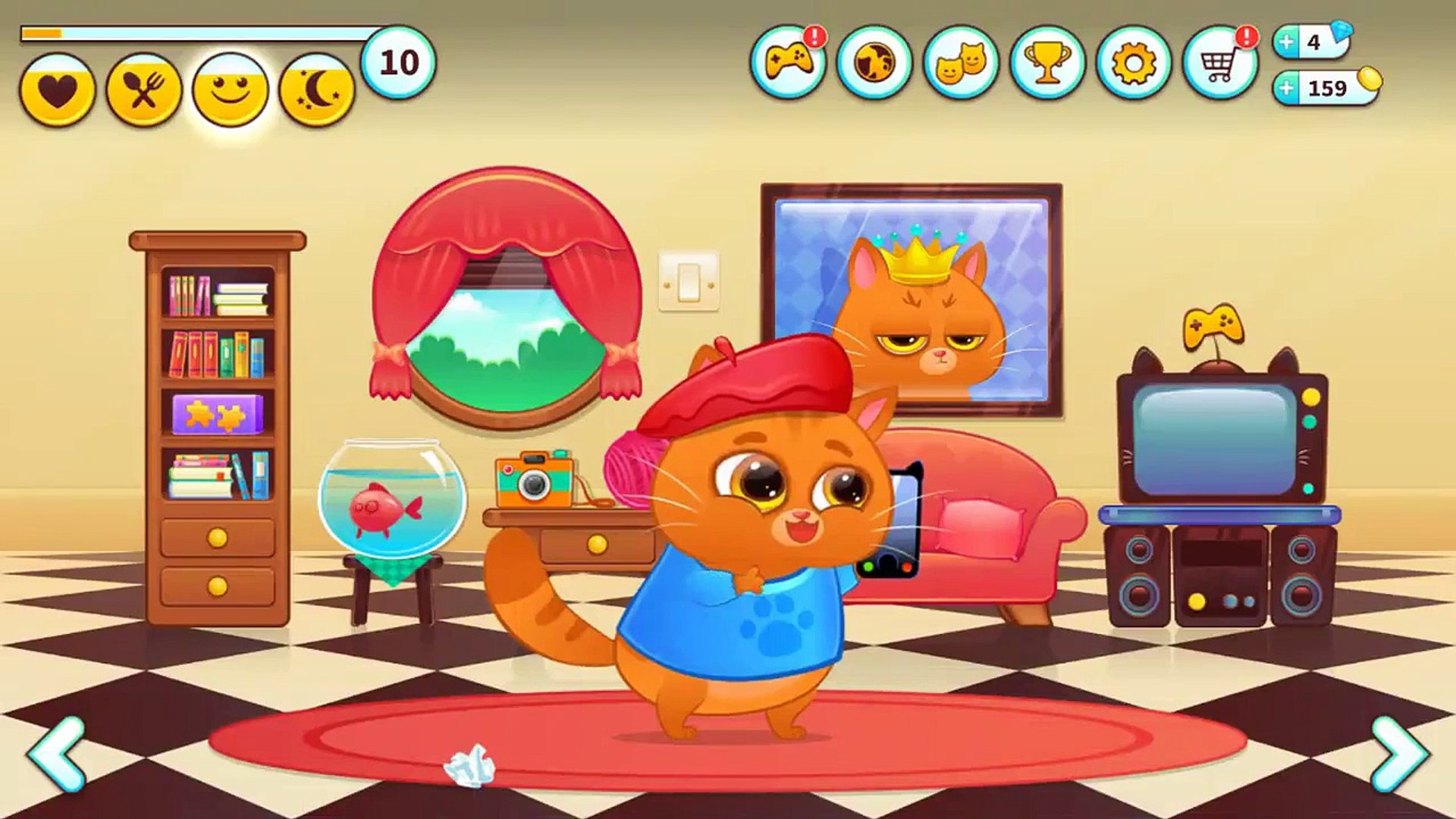 Bubbu Virtual Pet Android Gameplay For Kids part 03 HD