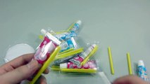 DIY How To Make Colors Paints Glue Slime Water Balloons Clay Icecream Syringe Learn Colo