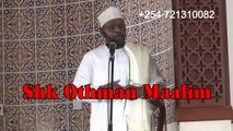 Othman Maalim...How many have converted to Islam through you srt