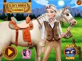 Disney Frozen Games-elsa Pony Caring - Frozen Games For Kids Girls Games