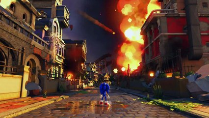 Sonic Forces : Sonic Forces - First Modern Sonic Gameplay
