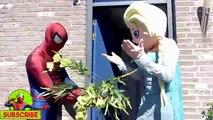 Bath Time! Frozen Elsa Bathtime Elsa Dating New Boyfriend Spiderman Superhero Real Life Pr