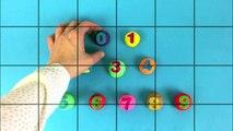 Часы номер Пеппа свинья головоломка головоломка No. 0-9 часы часы números Релох