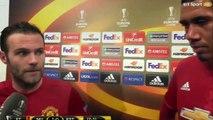 Juan Mata & Chris Smalling's Post-Match Interview - Manchester United 1-0 FC Rostov