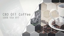 CBD Oil Coffee Whole Beans | Hemp Genix CBD Infused Coffee | CBD Infused Coffee | CBD Oil Infused Coffee Beans