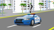 Race of Police Car in the city Big Crash - Cars and Truck cartoon Compilation for Kids