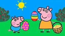 Пеппа свинья раскраска страницы для Дети Узнайте цвета Пеппа раскраска Книга видео для Дети