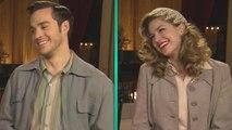 EXCLUSIVE: 'Supergirl' Melissa Benoist & Chris Wood Can't Stop Blushing Over Karamel's Relationship