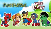 Paw Patrol Finger Family Surprise Eggs | Chase, Rocky, Skye | Transform into Super Heroes