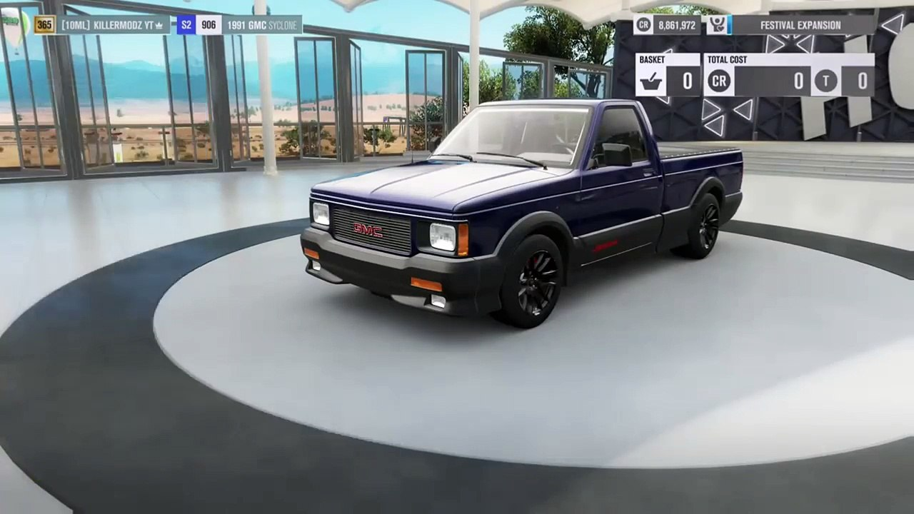 Forza Horizon 3 Gmc Syclone Fast Drag Tune + Wheelie Tune