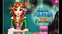 Анна замороженные реальная стрижки Принцесса Анна Игры дисней Принцесса кино