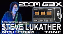 Zoom G3 STEVE LUKATHER tone BOGNER Amp Simulation