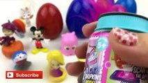 20 Surprise Eggs Kinder Surprise Disney Pixar Doraemon Superheroes Mickey Mouse