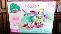 Real Cooking Ultimate Baking Starter Set - I Bake Sprinkle Sparkle Cupcakes!-Vwe