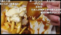 2017_03_18 【ニコ生 ドイツ人】 ドイツのカレーソーセージを食べる!