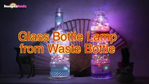 How To Make The Most Gorgeous Glass Bottle Lamps from Waste Bottles - DIY Home Decor Ideas-RgQ2Or5W1g8