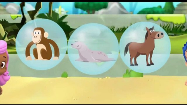Bubble Guppies Movie Games - Lonely Rhino Friend Finders - Kids Game
