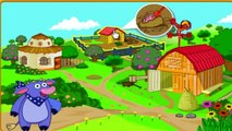 Dora The Explorer - Dora Saves The Farm. Full Episodes in English 2016 #Dora_games (HD)