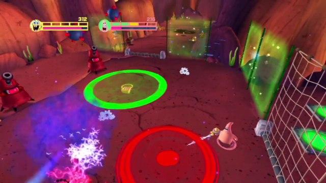 Spongebob Squarepants Planktons Robotic Revenge - Gameplay Walkthrough - Part 11 - Squids