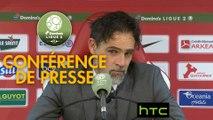 Conférence de presse Stade Brestois 29 - Stade Lavallois (3-0) : Jean-Marc FURLAN (BREST) - Marco SIMONE (LAVAL) - 2016/2017