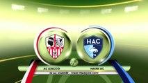 Résumé de AC Ajaccio - HAC (0-0) du 17/03/2017