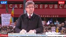 Marche pour la 6ème République -  Discours de Jean-Luc Mélenchon - Evénement (18/03/2017)