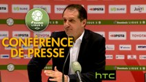 Conférence de presse Valenciennes FC - Tours FC (0-4) : Faruk HADZIBEGIC (VAFC) - Nourredine  EL OUARDANI (TOURS) - 2016/2017