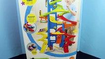 Wheelies Roller Coaster Disney Cars Wheelies Lightning McQueen Mater, Little People and Ra