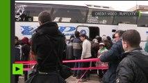 1 500 rebelles et civils syriens quittent le dernier bastion de résistance à Homs