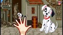 Dalmatians Dog Finger Family Nursery Rhymes | 101 Dalmatians Dog Finger Family Songs For K
