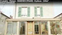 A vendre - Maison - MARINES (95640) - 8 pièces - 144m²