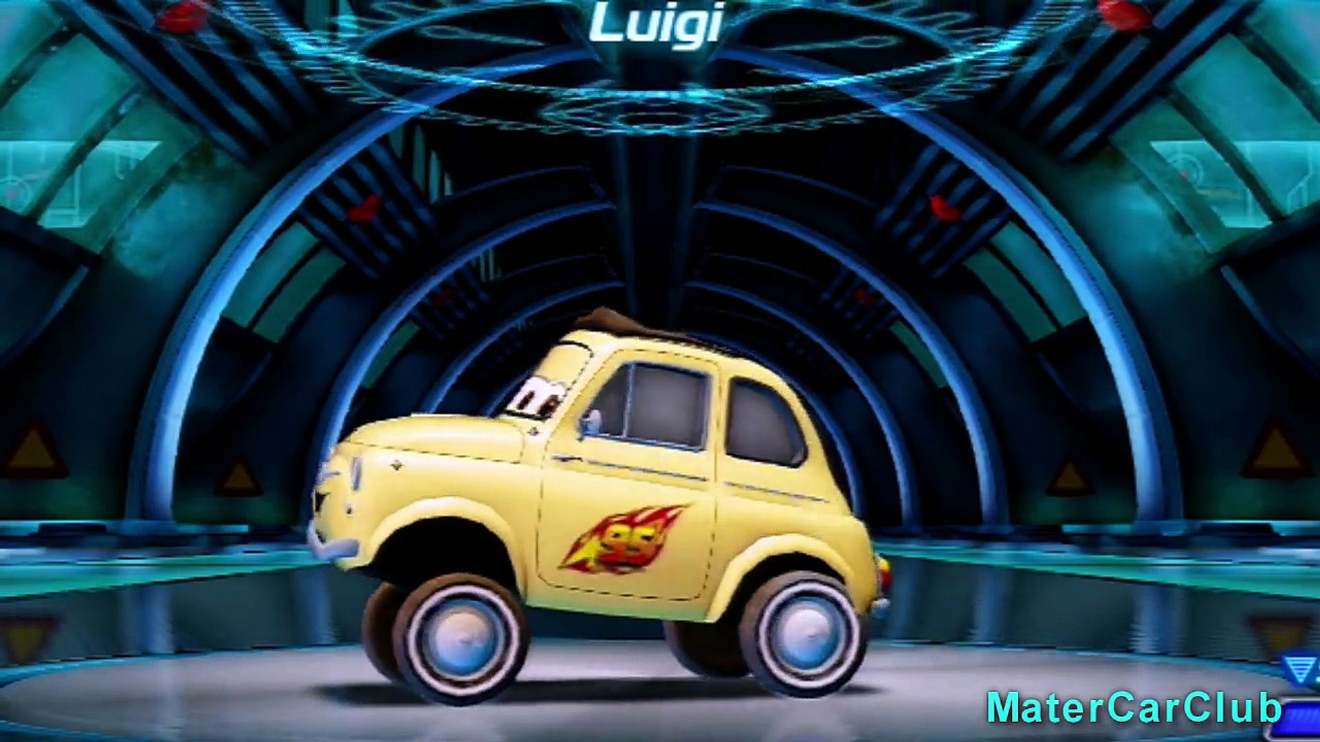 Cars 2 Color Changing Custom Paint! Cars-Cars 2-Cars Toons-Maters Tall Tales-Race-O-Rama!