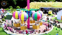 Peppa Pig World Boat Ride Peppas Big Ballon Ride Mongolfières et Bateau Paultons Park