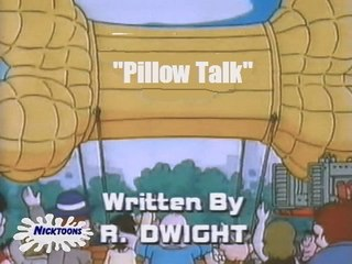 Wowser Pillow Talk but it was aired on NickToons in 2004 (RARE, read the description)