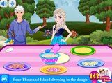 Elsa And Jack Special Reuben Pizza: Disney princess Frozen - Best Baby Games For Girls
