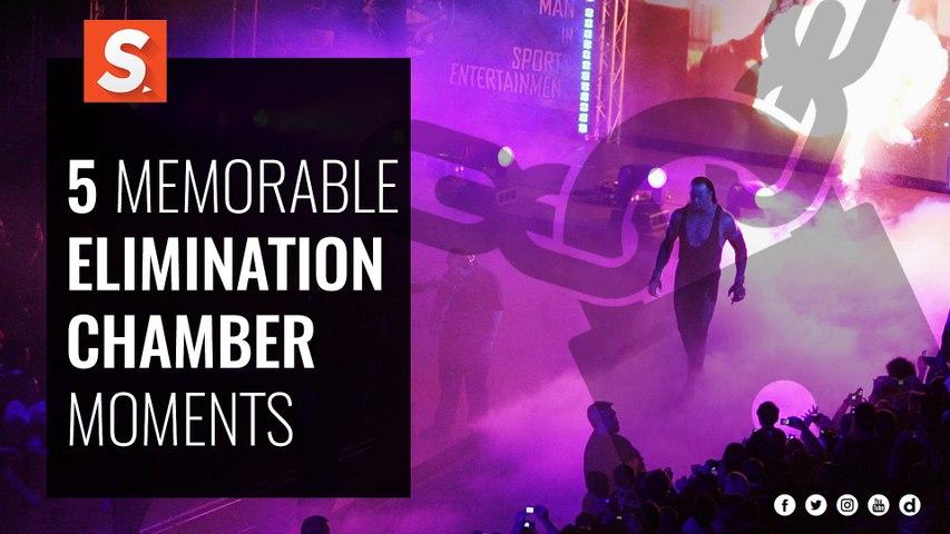 Elimination Chamber   5 Memorable Moments