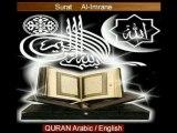 1/7 Al-Imrane islam Quran arabic english bible jesus koran
