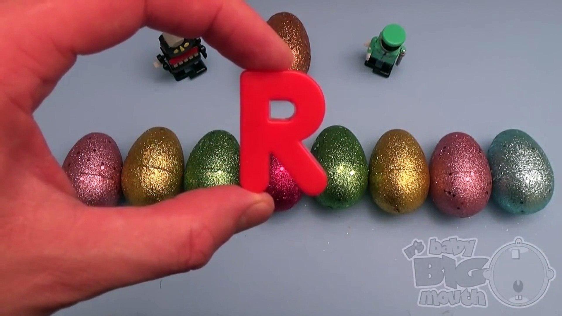 Большой яйцо Герой Learn-A-слово Урок Написание сюрприз овощи 6 23