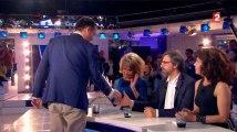 Clémentine Célarié refuse de serrer la main à Florian Philippot dans ONPC
