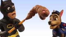 Paw Patrol MONSTER Superhero Batman Stop Motion Play Doh Toy Maker