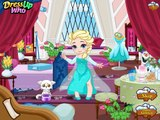 Baby Elsa Skiing Trip - Frozen Baby Princess Games For Kids