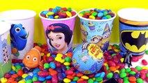 Конфеты сюрприз чашки Обнаружение солнечник дисней Принцесса миньоны Пеппа свинья Бэтмен Немо Игрушки