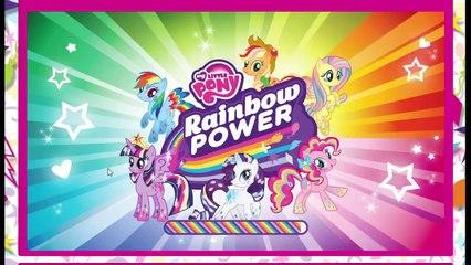 Мой мало пони Радуга Магия игра Флаттершай сумерки искриться и пинка пирог пони